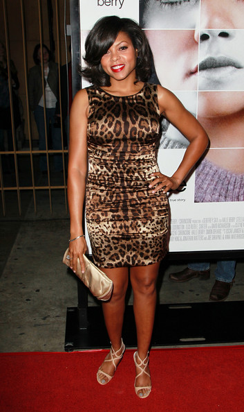 "Actress Taraji P. Henson attends the premiere of ""Frankie and Alice"" at the Egyptian Theatre on November 30, 2010 in Hollywood, California."