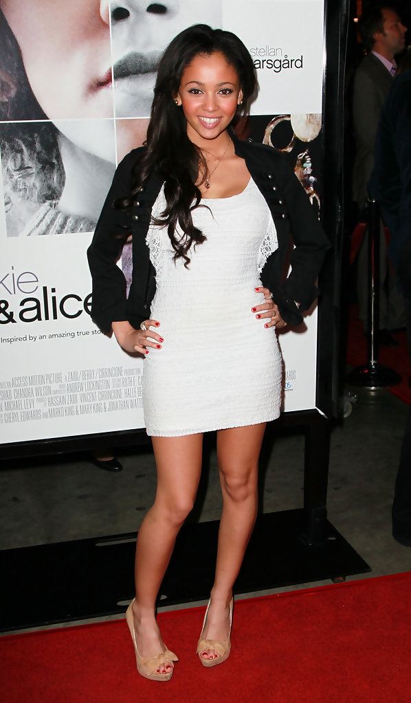 Vanessa Morgan Photos Photos Premiere Of Quot Frankie And