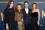 "(L-R) Christina Schwarzenegger, Maria Shriver, Patrick Schwarzenegger and Katherine Schwarzenegger attend Global Road Entertainment's world premiere of ""Midnight Sun"" at ArcLight Hollywood on March 15, 2018 in Hollywood, California."