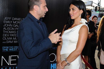 "Olivia Munn Alan Poul Premiere Of HBO's ""The Newsroom"" - Red Carpet"