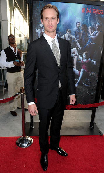 "Alexander Skarsgard Actor Alexander Skarsgard arrives at HBO's ""True Blood"" Season 3 premiere held at ArcLight Cinemas Cinerama Dome on June 8, 2010 in Hollywood, California."