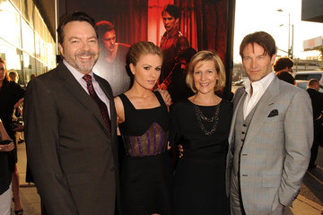 """Alan Ball Anna Paquin Premiere Of HBO's """"True Blood"""" Season 4 - Red Carpet"""