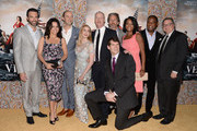 Reid Scott, Julia Louis-Dreyfus, Tony Hale, Anna Chlumsky, Matt Walsh, Gary Cole, Timothy Simons, Sufe Bradshaw, Isiah Whitlock and Kevin Dunn attend the premiere of HBO's 'Veep' 3rd Season at Paramount Studios on March 24, 2014 in Hollywood, California.