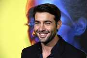 """James Wolk attends the Premiere Of HBO's """"Watchmen"""" at The Cinerama Dome on October 14, 2019 in Los Angeles, California."""