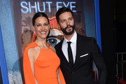 KaDee Strickland and Jason Behr attend the HULU premiere of Shut Eye at the Arclight theatre in Hollywood, on December 1, 2016. / AFP / CHRIS DELMAS