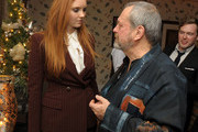 Lily Cole and Terry Gilliam Photos Photo