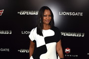 Actress Garcelle Beauvais attends the premiere of Lionsgate Films' 'The Expendables 3' at TCL Chinese Theatre on August 11, 2014 in Hollywood, California.