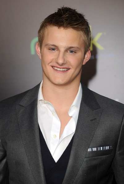 "Actor Alexander Ludwig arrives at the premiere of Lionsgate's ""The Hunger Games"" at Nokia Theatre L.A. Live on March 12, 2012 in Los Angeles, California."