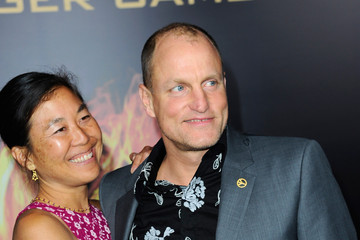 """Woody Harrelson Laura Louie Premiere Of Lionsgate's """"The Hunger Games"""" - Arrivals"""