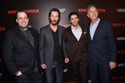 Keanu Reeves Eli Roth Photos Photo