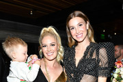 """Heidi Pratt with her son Connor and Whitney Port attend the party for the premiere of MTV's """"The Hills: New Beginnings"""" at Liaison on June 19, 2019 in Los Angeles, California."""