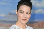 """Michelle Monaghan attends the premiere of Netflix's """"El Camino: A Breaking Bad Movie"""" at Regency Village Theatre on October 07, 2019 in Westwood, California."""
