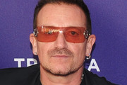 """Musician Bono attends the premiere of """"No Woman No Cry"""" during the 2010 Tribeca Film Festival  at Village East Cinema on April 24, 2010 in New York City."""