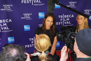 """Model Christy Turlington Burns attends the premiere of """"No Woman No Cry"""" during the 2010 Tribeca Film Festival  at Village East Cinema on April 24, 2010 in New York City."""