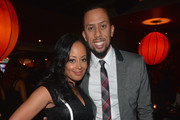 Actors Essence Atkins and Affion Crockett attend the after party for the premiere of Open Road Films' 'A Haunted House 2' at  on April 16, 2014 in Los Angeles, California.