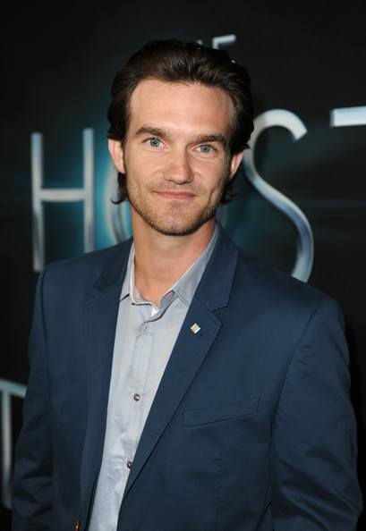 "Actor Lee Hardee attends the premiere of Open Road Films ""The Host"" at ArcLight Cinemas Cinerama Dome on March 19, 2013 in Hollywood, California."