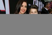 "Aubrey Plaza (L) and Gabriel Bateman arrive at the premiere of Orion Pictures and United Artists Releasing"" ""Child's Play"" at ArcLight Hollywood on June 19, 2019 in Hollywood, California."