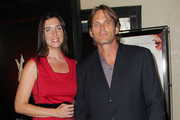 """Actor Chris Browning (R) and Sarah Browning attend the """"Let Me In"""" film premiere at the Bruin Theatre-Westwood Village on September 27, 2010 in Los Angeles, California."""