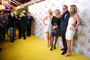 "(L-R) Paris Hilton, Kathy Hilton, Rick Hilton and Nicky Hilton arrive at premiere of Oxygen's New Docu-Series ""The World According To Paris"" at Tropicana Bar at The Hollywood Roosevelt on May 17, 2011 in Los Angeles, California."