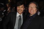 """Actor Byung-Hun Lee and producer Lorenzo di Bonaventura attend the premiere of Paramount Pictures' """"G.I. Joe:Retaliation"""" at TCL Chinese Theatre on March 28, 2013 in Hollywood, California."""
