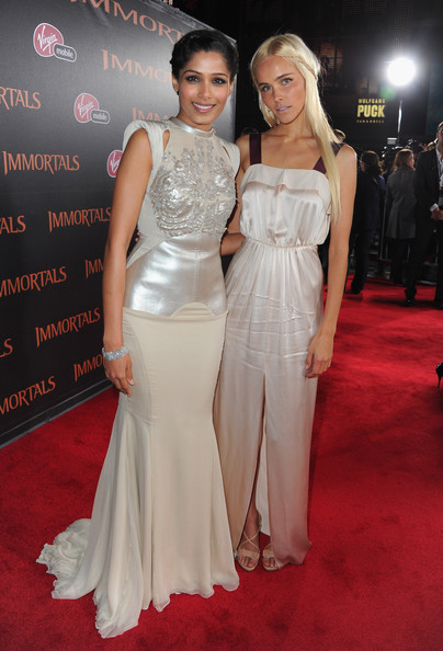 "Premiere Of Relativity Media's ""Immortals"" Presented In RealD 3D - Red Carpet"