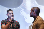 Dijon Talton and Qasim Basir attends the premiere of 'A Boy. A Girl. A Dream.' Q&A and after party on September 11, 2018 in Hollywood, California.