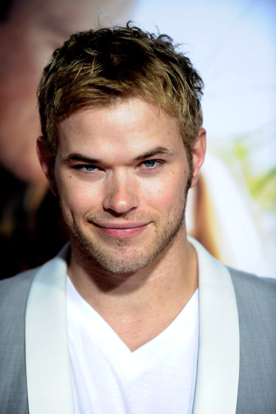 Actor Kellan Lutz arrives at the premiere of Screen Gems'