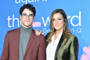 """Darren Criss and Mia Swier attend the premiere of Showtime's """"The L Word: Generation Q""""  at Regal LA Live on December 02, 2019 in Los Angeles, California."""