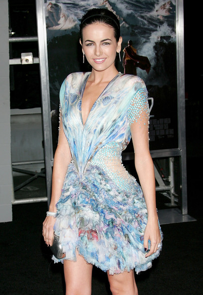 Actress Camilla Belle attends the premiere of Sony Pictures'