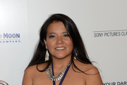 Actress Misty Upham arrives at the premiere of Sony Pictures Classics' 'Kill Your Darlings' at Writers Guild Theater on October 3, 2013 in Beverly Hills, California.