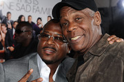 """Actors Martin Lawrence  and Danny Glover arrive at Sony Pictures Releasing's """"Death At A Funeral"""" premiere held at Arclight Cinema on April 12, 2010 in Los Angeles, California."""