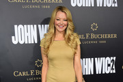 "Actress Charlotte Ross poses on arrival for the premiere of the film ""John Wick Chapter Two"" in Hollywood, California on January 30, 2017. / AFP / Frederic J. Brown"