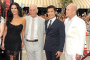 Bruce Willis and Byung-hun Lee Photos Photo