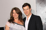 "Actor Eric Mabius (R) and his wife Ivy Sherman attend the premiere of Summit Entertainment's ""Source Code"" at the Arclight Cinerama Dome on March 28, 2011 in Los Angeles, California."