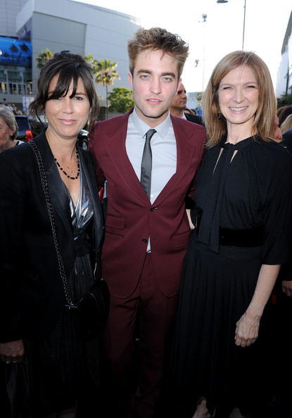"""Rebecca Yeldham LAFF festival director Rebecca Yeldham, actor  Robert Pattinson and Film Independent executive director Dawn Hudson  arrive at the premiere of Summit Entertainment's """"The Twilight  Saga: Eclipse"""" during the 2010 Los Angeles Film Festival at Nokia  Theatre L.A. Live on June 24, 2010 in Los Angeles, California."""