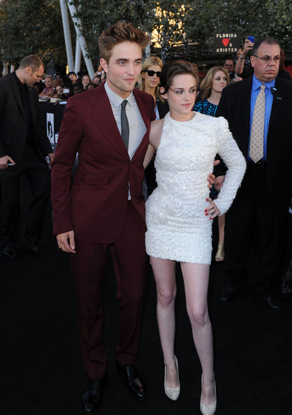 """Kristen Stewart Actor Robert Pattinson (L) and actress Kristen Stewart arrive at the premiere of Summit Entertainment's """"The Twilight Saga: Eclipse"""" during the 2010 Los Angeles Film Festival at Nokia Theatre L.A. Live on June 24, 2010 in Los Angeles, California."""