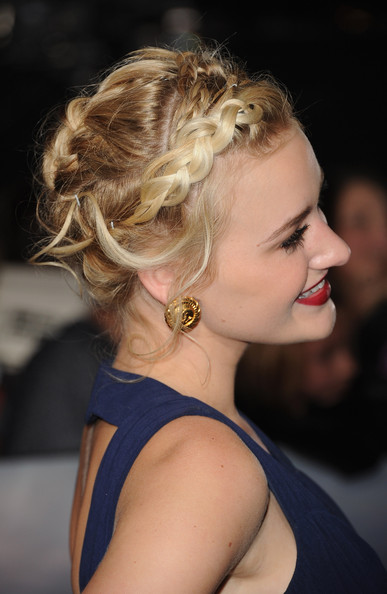 """Actress AJ Michalka arrives at the premiere of Summit Entertainment's """"The Twilight Saga: Breaking Dawn - Part 2"""" at Nokia Theatre L.A. Live on November 12, 2012 in Los Angeles, California."""