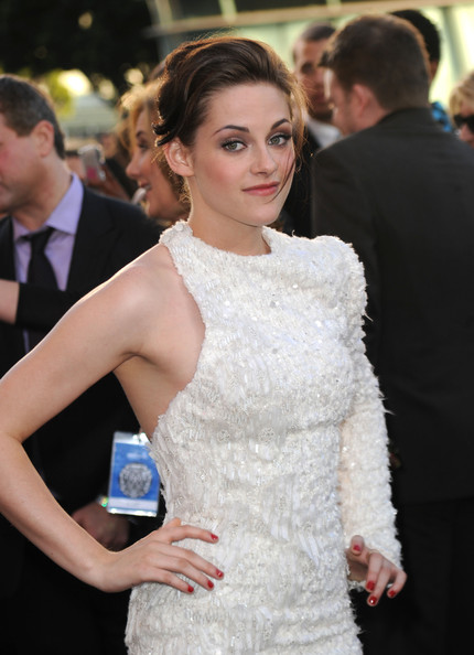 """Kristen Stewart Actress Kristen Stewart arrives at the premiere of Summit Entertainment's """"The Twilight Saga: Eclipse"""" during the 2010 Los Angeles Film Festival at Nokia Theatre L.A. Live on June 24, 2010 in Los Angeles, California."""