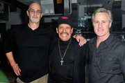 """Director Eric Schwartz, actor Danny Trejo and producer John Corey attend the """"Tattoo Nation"""" after party at Couture on March 28, 2013 in Los Angeles, California."""