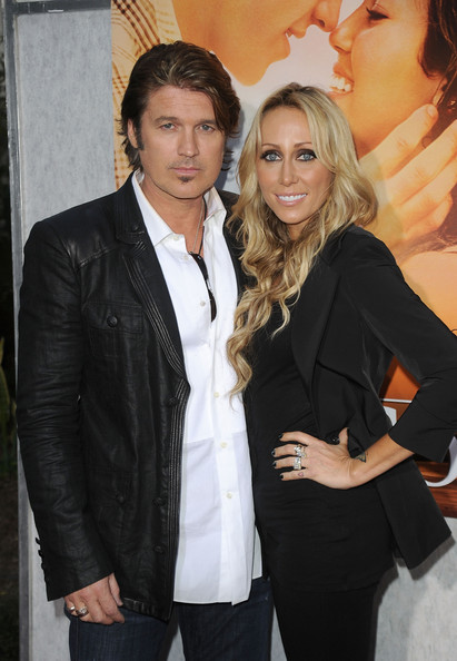 "Billy Ray Cyrus Billy Ray Cyrus and Tish Cyrus arrive at the ""The Last Song"" Los Angeles premiere held at ArcLight Hollywood on March 25, 2010 in Hollywood, California."