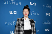 "Jessica Biel attends the Premiere of USA Network's ""The Sinner"" Season 3at The London West Hollywood on February 03, 2020 in West Hollywood, California."