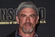 """Actor Christopher Meloni attends the premiere of USA Network's """"Unsolved: The Murders of Tupac and The Notorious B.I.G. at Avalon on February 22, 2018 in Hollywood, California."""