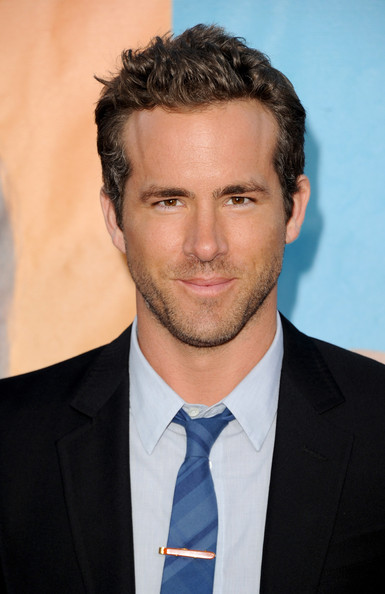 "Actor Ryan Reynolds arrives at the premiere of Universal Pictures' ""The Change-Up"" held at the Regency Village Theatre on August 1, 2011 in Los Angeles, California."