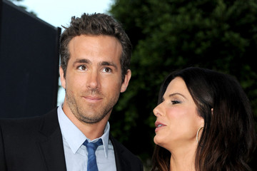 """Sandra Bullock Ryan Reynolds Premiere Of Universal Pictures' """"The Change-Up"""" - Red Carpet"""