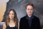 "(L-R) Susan Downey and Robert Downey Jr. attend the Premiere of Universal Pictures' ""Dolittle"" at Regency Village Theatre on January 11, 2020 in Westwood, California."