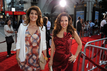 """Nia Vardalos Maria Canals-Barrera Premiere Of Universal Pictures' """"Larry Crowne"""" - Red Carpet"""