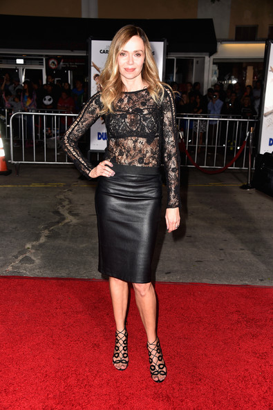 Premiere Of Universal Pictures  Vanessa Angel 2014