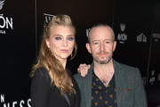 """Natalie Dormer and Anthony Byrne attend the premiere of Vertical Entertainment's """"In Darkness"""" at ArcLight Hollywood on May 23, 2018 in Hollywood, California."""