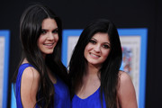 Television personalities Kendall Jenner and Kylie Jenner arrive at the premiere of Walt Disney Pictures'
