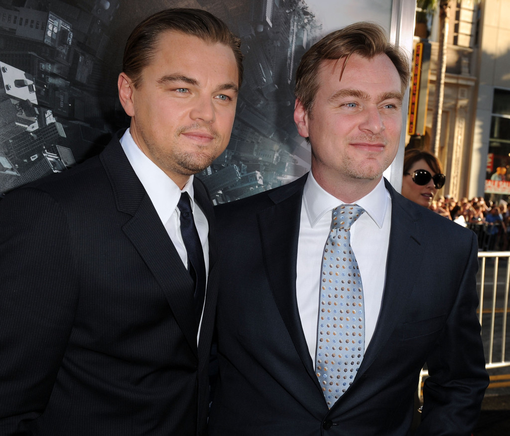 Christopher Nolan and leonardo dicaprio